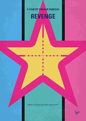 Digital Art - No970 My Revenge Minimal Movie Poster by Chungkong Art
