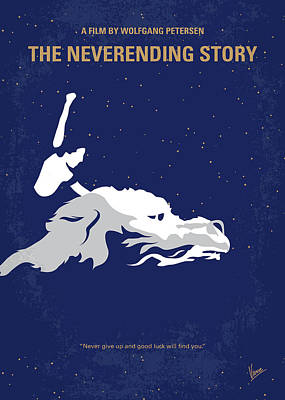Story Wall Art - Digital Art - No975 My The Neverending Story Minimal Movie Poster by Chungkong Art