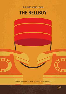Digital Art - No977 My The Bellboy Minimal Movie Poster by Chungkong Art