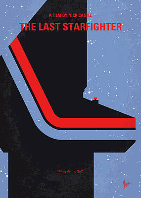 Digital Art - No999 My The Last Starfighter Minimal Movie Poster by Chungkong Art