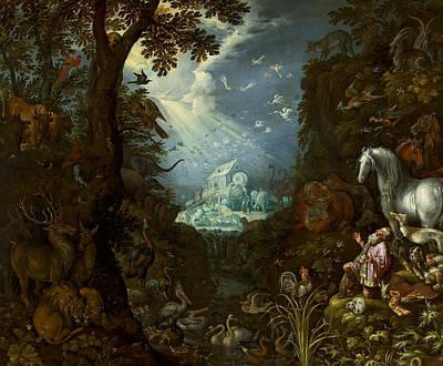 Painting - Noah's Ark by Roelant Savery