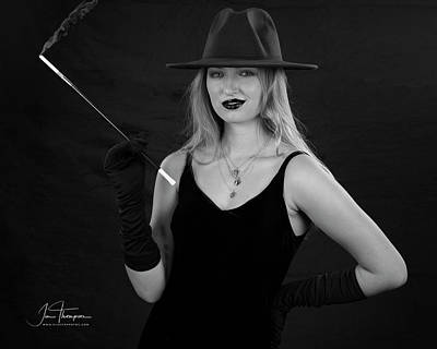 Photograph - Noir Nicole by Jim Thompson