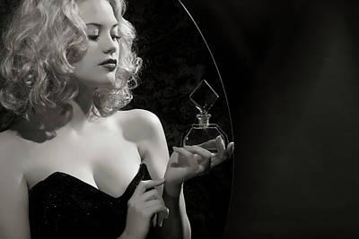 Photograph - Noir Style.new Aromat by Retroatelier