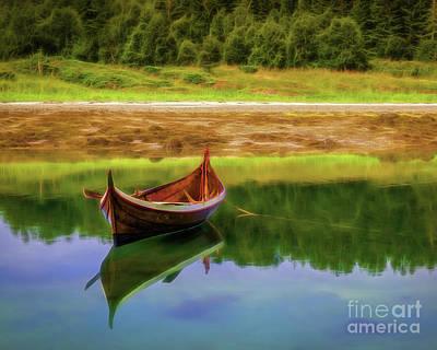 Erik Brede Rights Managed Images - Nordland Boat Royalty-Free Image by Erik Brede