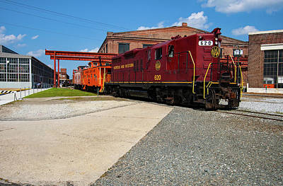Photograph - Norfolk Western 620 Color 21 by Joseph C Hinson Photography