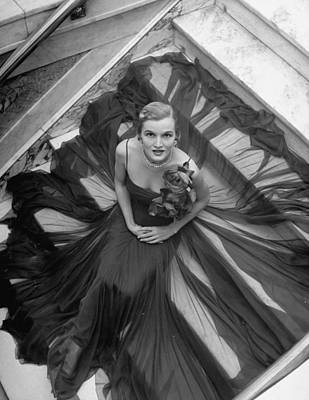 Photograph - Norman Norell Misc by Nina Leen