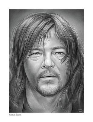 Royalty-Free and Rights-Managed Images - Norman Reedus by Greg Joens