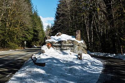 Photograph - North Cascades National Park Entrance by Tom Cochran