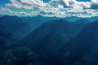 Mountain Royalty-Free and Rights-Managed Images - North Cascades by Pelo Blanco Photo
