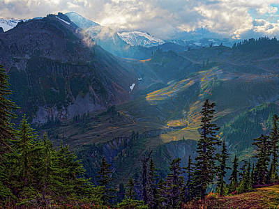 Photograph - North Cascades by Thomas Hall