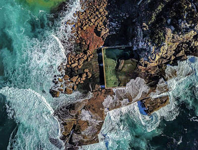 Photograph - North Curl Curl Headland And Pool by Chris Cousins