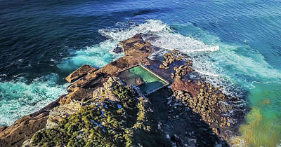 Photograph - North Curl Curl Headland by Chris Cousins