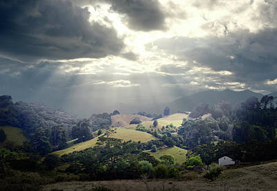 Photograph - North Island New Zealand Scenic by Ed Freeman