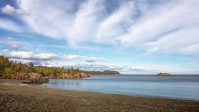 Photograph - North Shore Black Beach by Susan Rissi Tregoning
