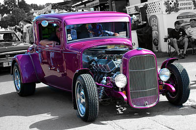 Wall Art - Photograph - Purple by Rik Carlson