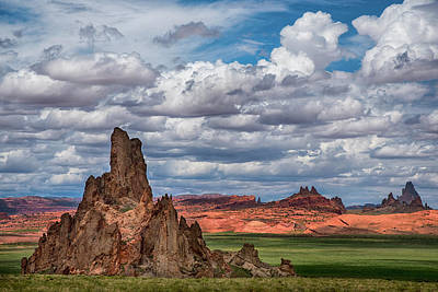 Photograph - Northern Arizona Rocky Outcrop by Dave Dilli