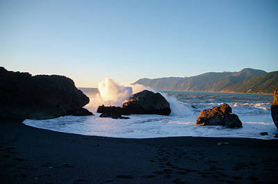 Photograph - Northern California - Black Sands Beach by Bill Cannon