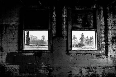 Photograph - Northern Fog And Shadows - Northern State Hospital by Brett Nelson