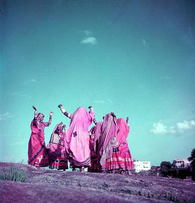 Photograph - Northern Indian Tribe Of Banjara Folk by Jack Birns