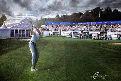 Painting - Northern Ireland Open 2018 by Mark Robinson