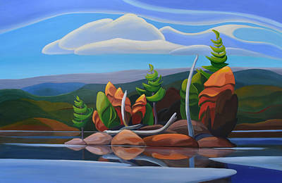 Painting - Northern Island II by Barbel Smith