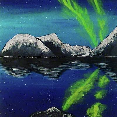 Painting - Northern Lights  by Jennah Lenae
