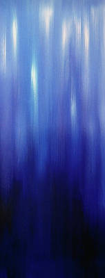 Painting - Northern Lights Oilpainting by Johanna Hurmerinta