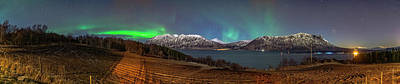 Photograph - Northern Lights Over Grytoya by Kai Mueller