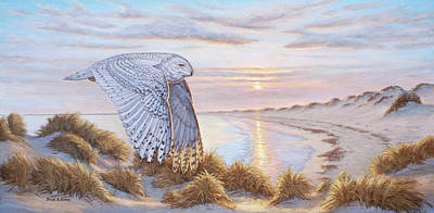 Painting - Northern Visitor by Bruce Dumas