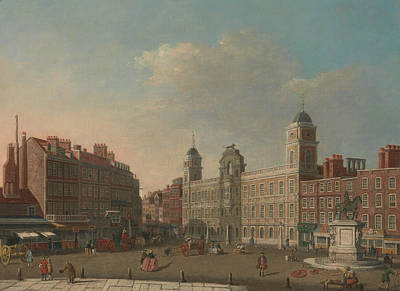 Painting - Northumberland House, London by William James Muller