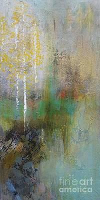 Painting - Northwest Aspens by Frances Marino