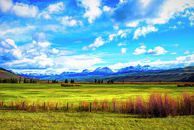 Photograph - Northwest Wyoming Afternoon by Mike Braun