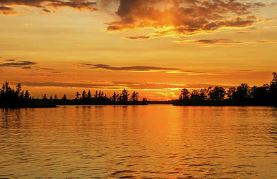 Photograph - Northwoods Silhouette by Dawn Richards