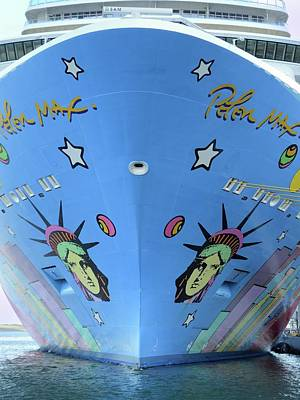 Photograph - Norwegian Breakaway Bow by Bradford Martin