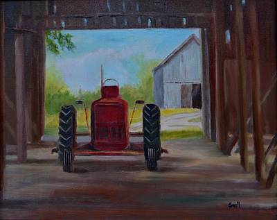 Painting - Not Retired Yet by Roger Snell