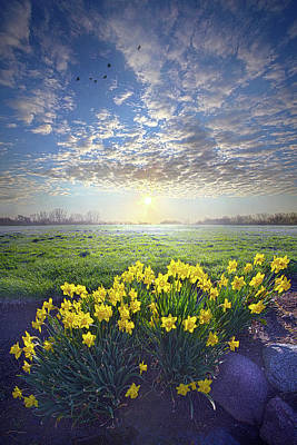 Photograph - Nothing Is Worse Than Being Apart by Phil Koch