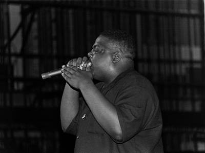 Photograph - Notorious B.i.g. Live In Chicago by Raymond Boyd