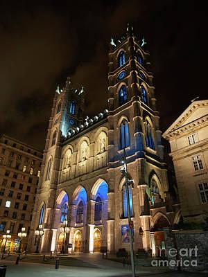 Photograph - Notre Dame Basilica Basilique Notre Dame De Montreal by Louise Heusinkveld