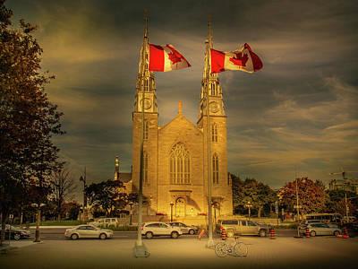 Photograph - Notre Dame Basilica by Juan Contreras