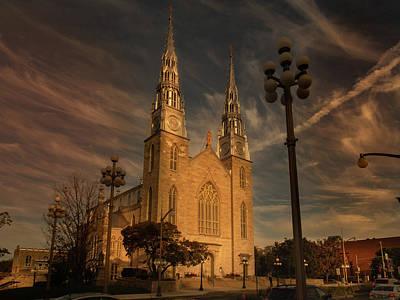 Photograph - Notre Dame Basilica - Ottawa by Juan Contreras