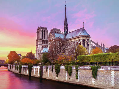 Photograph - Notre Dame Cathedral by Sue Harper