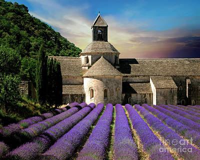 Photograph - Notre Dame De Senanque by Edmund Nagele