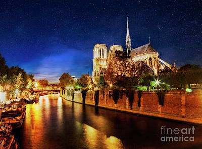 Photograph - Notre Dame by Scott Kemper