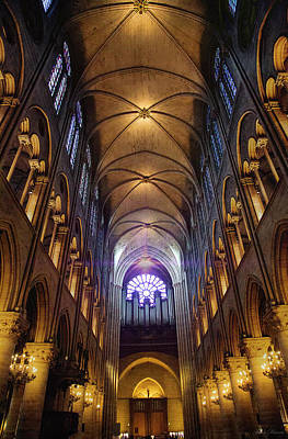 Photograph - Notre Dames Inner Soul by John Rivera