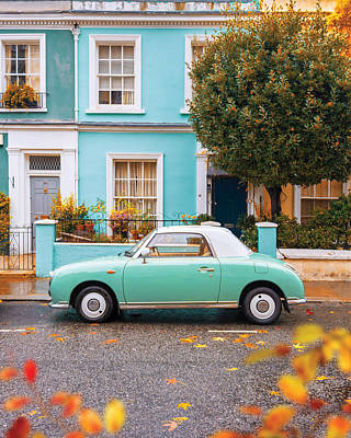 Photograph - Notting Hill Vibes by Gabor Estefan