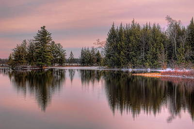 Photograph - November Clouds Over Sand Lake by Dale Kauzlaric