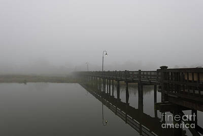 Photograph - November Foggy Stillness by Dale Powell