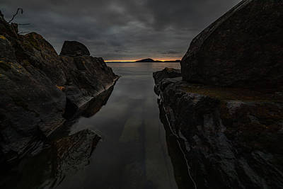 Gichigami Photograph - November Skies At Picnic Point by Jakub Sisak