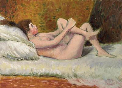 Painting - Nu Couche by Federico Zandomeneghi