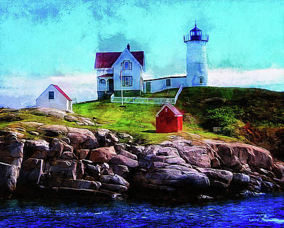 Photograph - Nubble Light by Thom Zehrfeld